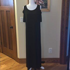 Chicos black maxi dress. Size 2